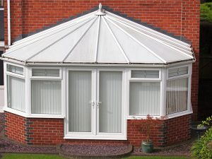 window blinds for a conservatory