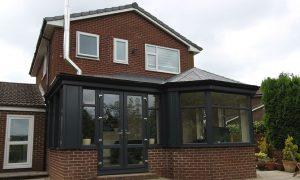 upvc conservatory Victorian p-shape